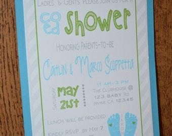 Coed baby shower Etsy