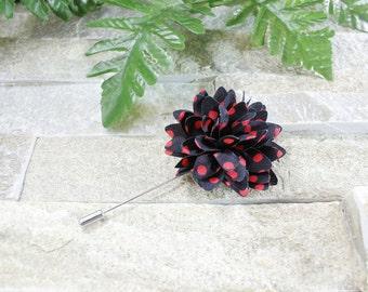 Black lapel flower. Lapel flower. Lapel pin. Flower lapel. Man lapel pin. Brooch. Flower lapel pin. Mens flower lapel. Lapel pins men.