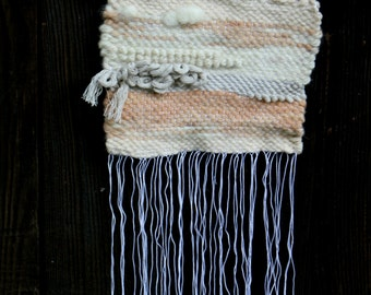 """Woven wall hanging """"sunset"""""""