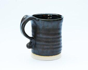 Metallic Brown Twist Mug