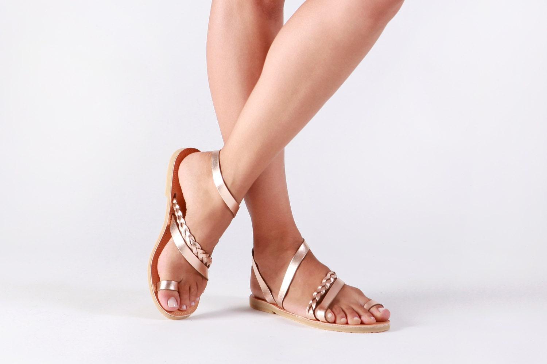 Greek sandals Sandals Gladiator sandals Leather sandals