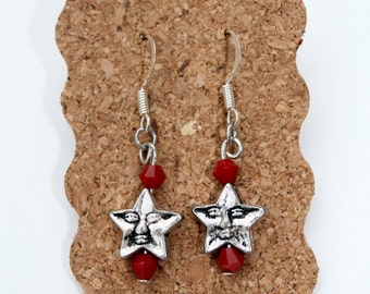 Starry Skies Silver Earrings