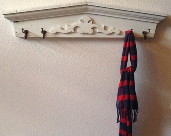 Antique Coat Rack, Vintage Coat Rack, Hall Tree, Coat Hook