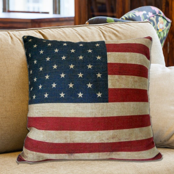 Throw Pillow Inserts 18 X 18 : Throw Pillow Cover & Insert // 18 x 18 American