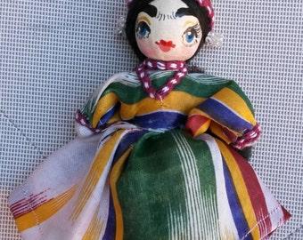 Ethnic handmade doll (Uzbek)