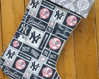 New York Yankees Quilted Christmas Stocking