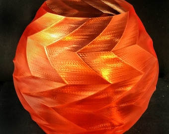 3D printed zig zag decorative vase