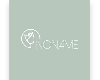 Logo design and business cards, premade logo design,  business card design, green logo design, flower logo design, custom business cards