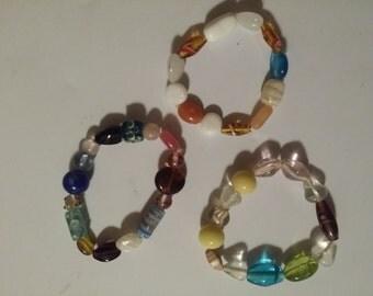 Stretch Bracelets / Everyday Jewelry / Multicolored