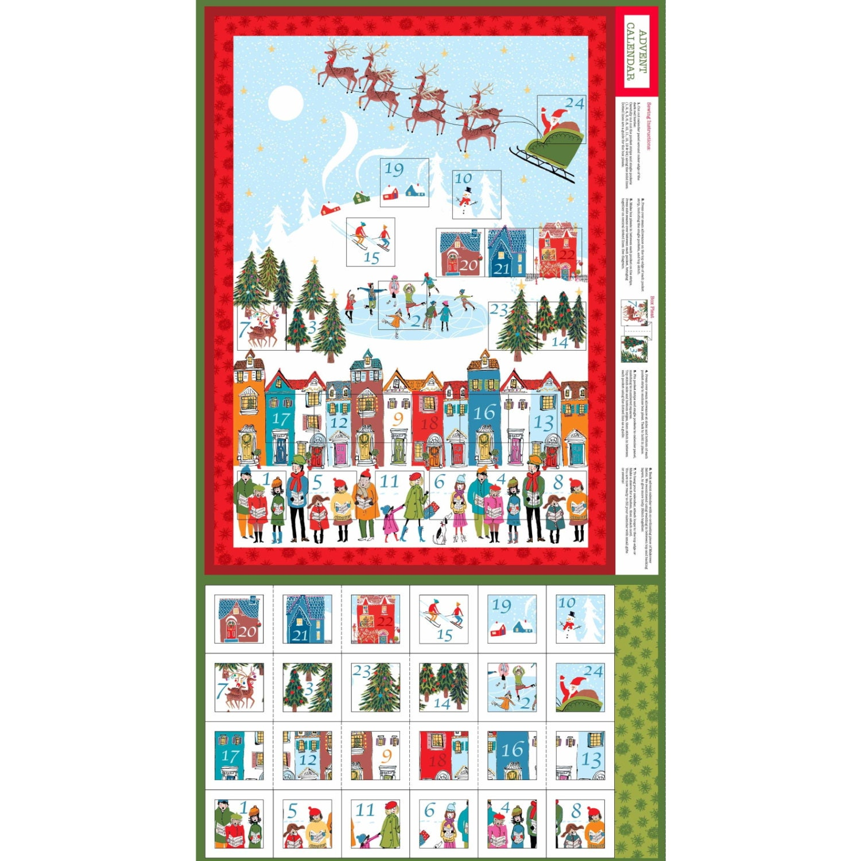 Advent Calendar Design Your Own : Fabric advent calendar kit make your own