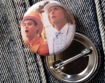 Dumb and Dumber handmade 1-1/4 inch pinback button pin pins buttons pingame badge badges