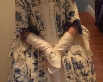 Custom 18th Century Colonial Young Lady's Ensemble