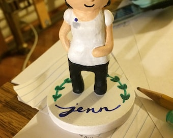 Custom Clay Figure, Personalized