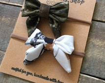 The Stephanie Bow Set - Camo Real Tree