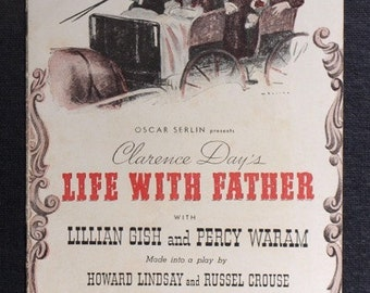 Life With Father - 1940 Playbill