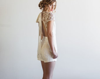 Lace Wedding Jumpsuit, Playsuit, Jumper, Romper - Steph by Cleo and Clementine