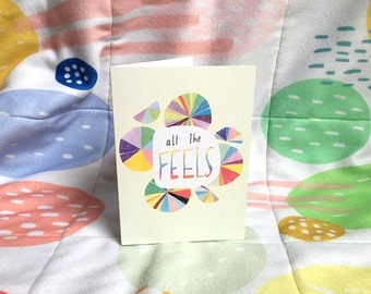 All the FEELS card cc174