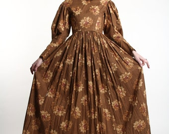 SALE - Historic 1800s GOWN Victorian Era Dress