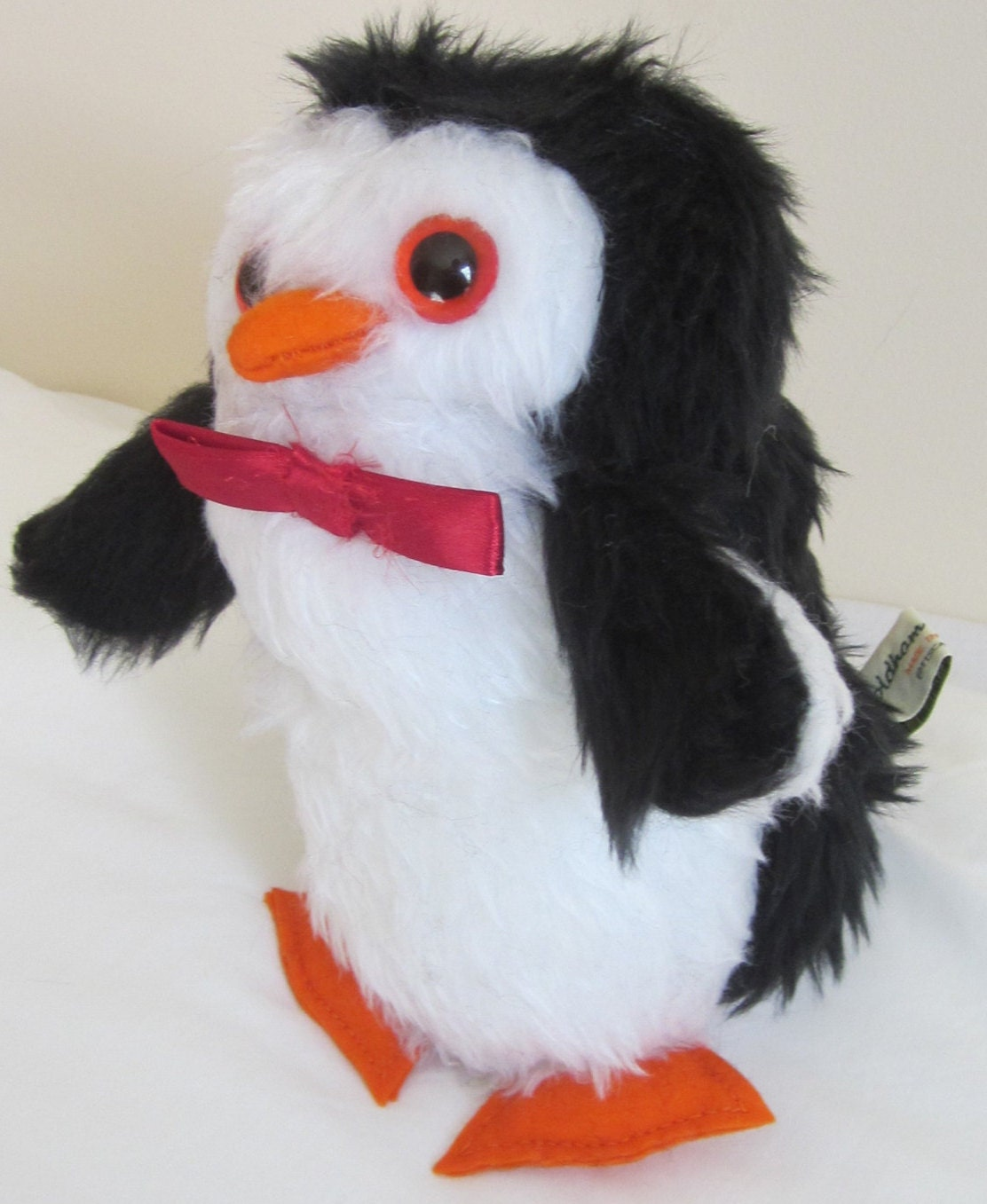 With Toys Penguin Tots : Percy penguin toy stuffed black and white by