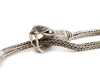 OUROBOROS Long Snake Necklace