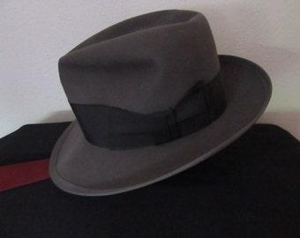 1950/1960s Gent's Dobbs Gray Hat