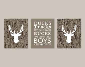 Superior Baby Boy Nursery Decor, Deer Antler Art Print Rustic Country Wall Art  Nursery Quote,
