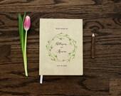 Wedding Guest Book, Guestbook, Rustic Wedding Guest Book, Rustic Guestbook, Custom Guest Book, Wedding Notebook