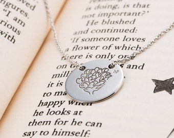Rose Flower -  Pendant  - Little Prince Rose