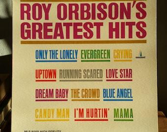 Roy Orbison Record - Roy Orbison's Greatest Hits - 1962 Vinyl LP
