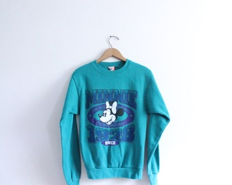 Bright Minnie Mouse 90s Sweatshirt