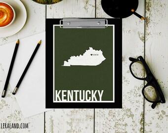 I love Lexington, Kentucky, KY, 11x14 or 8x10, customizable city, I heart pop art poster, digital art print, modern home decor state art
