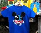 My First 1st Trip to Disney World Shirt for Boys