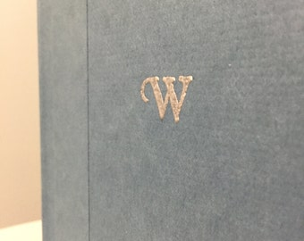 Add Custom Gold or Silver Embossing to the Cover of your Folded Book Art - Christmas Gift for Him For Her - Anniversary Gift