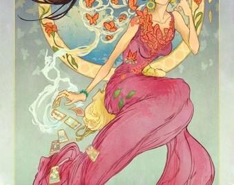 Madame Xanadu Fan Poster