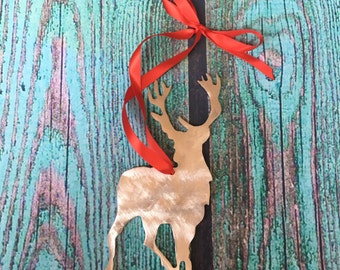 Harry Potter, Stag, Patronus, James Potter, Holiday Ornament, Wall Decor, gift, metal, art, Christmas, collectible, wizard