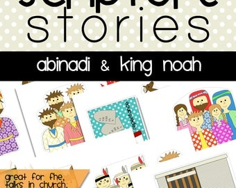 Scripture Story Abinadi & King Noah, Abinadi and King Noah, Book of Mormon Story, Family Home Evening, Primary, Faith, Follow the Prophet