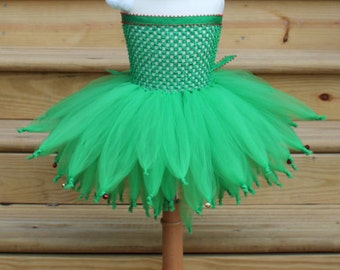 Holiday Elf Tutu Dress with Bells!!!   JTW15103 - Fully lined top sizes 4T and up