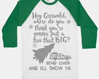Clark Griswold Sweatshirt. Hey Griswold Shirt. Christmas Vacation Shirt. Ugly Christmas Shirt. Christmas Vacation Shirt