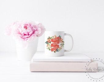 Best Mum Ever Mug| Best Mom Ever Mug | World's Best Mom | Mother's Day Gift | Floral Quote Mug | Floral Mug | Tea Cup | Under 50