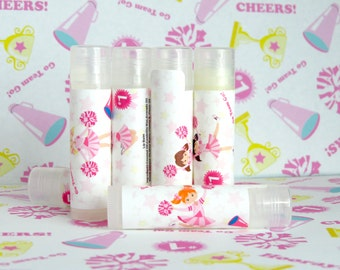 Girls Party Favors- Cheerleader Personalized Party Favors Set of 6