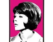 Tara King: Art & Hue presents The Avengers stylish pop art inspired by the cult British 1960s TV show -gallery wall art prints Linda Thorson