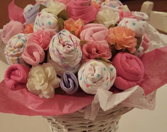 Baby Bloomer - Baby Clothes Bouquet (21 Piece)