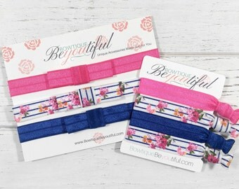 Matching Mommy and Baby Set - Mommy and Me - Matching Mom and Daughter - Hair Ties -  Baby Girl Headband