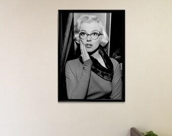 Vintage Photograph Poster Print - Marilyn Monroe