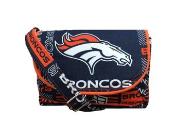 Denver Broncos Purse / NFL Stadium Game Day Bag