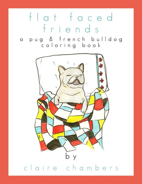 french bulldog book pug french bulldog adult coloring book coloring book for 2694
