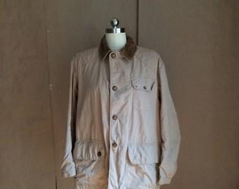 vintage 1960's PENNEY'S chore jacket / fishermans jacket / hunting jacket / coat / outerwear / mod / traditional / Americana