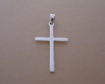 925 Sterling Silver Small Latin Cross Pendant