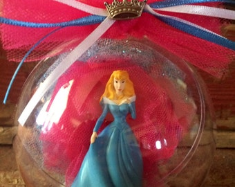Sleeping Beauty Globe Ornament