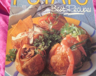 Vintage Cook Book The Popular Potato Best Recipes Cook Book